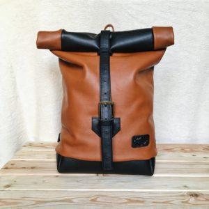 kézzel készített férfi női bőr hátizsák