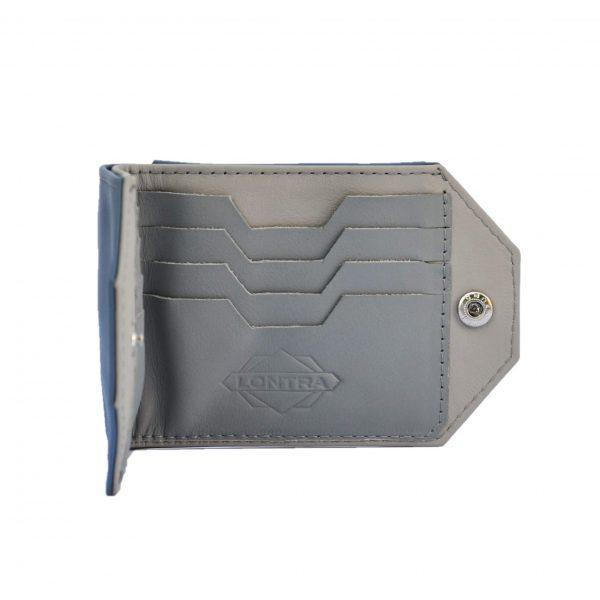 elegáns praktikus puha bőr pénztárca