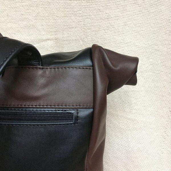 magyar kézzelkészített unisex bőr hátizsák