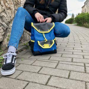 urbanstyle, kézzelkészített bőr hátizsák